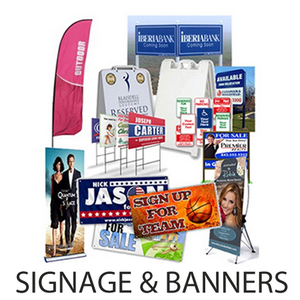 Banners, Signs, Flags, Tablecloths and Decals